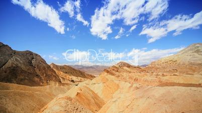 Arid Canyons of Death Valley