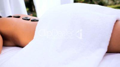 Asian Girl at Luxury Spa Resort