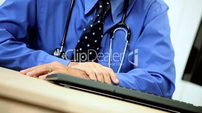 Senior Medical Consultant in Portrait