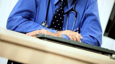 Distinguished Senior Medical Consultant in Portrait