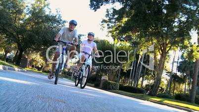 Healthy Cycling Exercise for Seniors