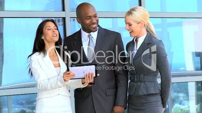 Multi Ethnic Male & Female Business Executives