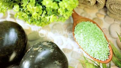 Spa Candles, Stones, Salts & Soap