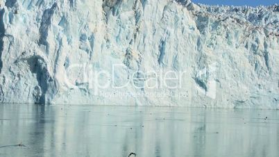 Glacial Ice Cliffs Formed by Climate Change