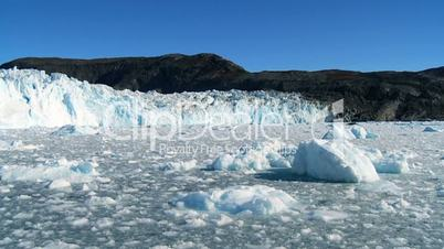 Effects of Climate Change on a Glacier