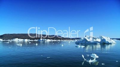 Drift Ice Produced by Climate Change