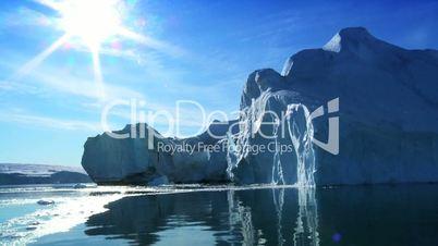 Frozen Landscape of  the Arctic