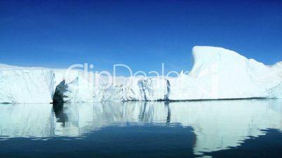 Frozen Landmass of  the Arctic