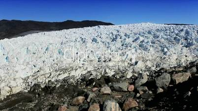 Arctic Glacier Affected by Global Warming