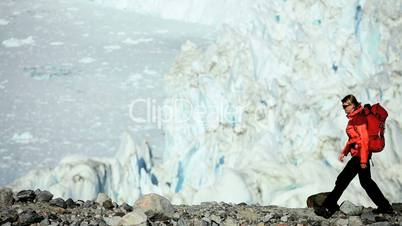 Lone Female on Arctic Trekking Expedition