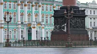 Pedestal decorations of Alexander column