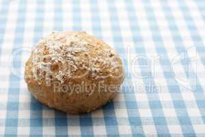 Whole meal bread roll