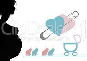 woman pregnant