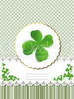 Decorative Saint Patrick card