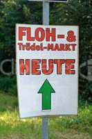 Floh und Trödelmarkt Plakat