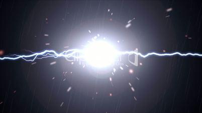Lightning and Sparks Effect