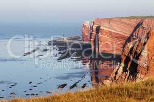 Helgolands Steilküste; Cliff line of Heligoland