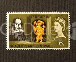 Shakespeare Festival Stamp
