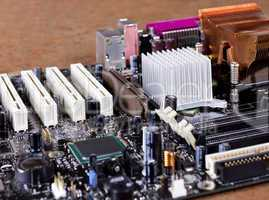 modern computer main board