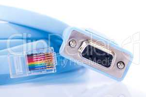 Console cable rj45