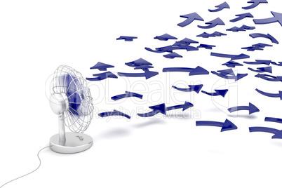 Fan blowing fresh ideas