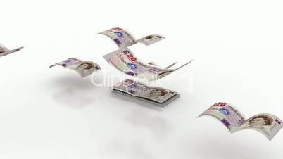 Flying Pound Currency
