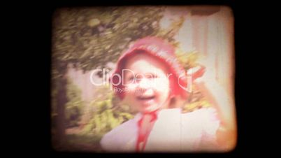 Old 8mm Family Home Movie