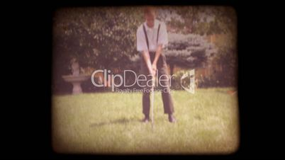 Old 8mm Golf Home Movie