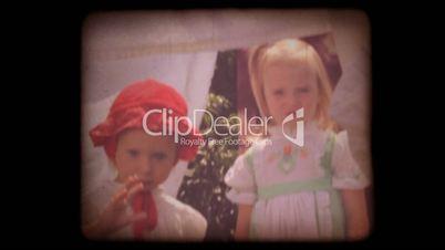 Old 8mm Kids Home Movie
