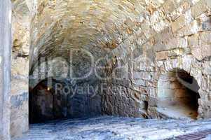 Fortification: Venetian castle (Koules), in Crete, Greece.