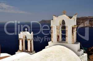 Chapel in Santorini Island.