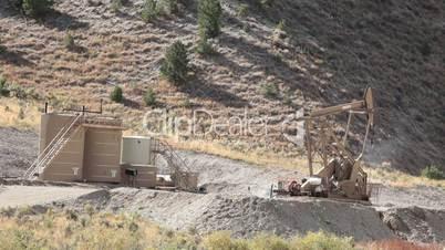 Oil well pump mountains of Utah P HD 0364