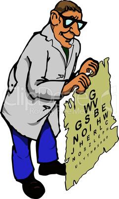Doctor optometrist