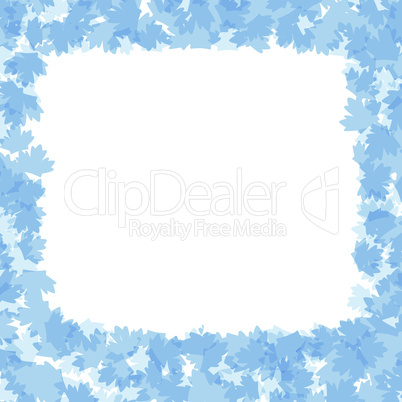 Seamless Winter Leaves Art floral Design vector background
