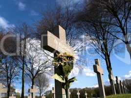 grave of an unknown german soldier of worldwar two