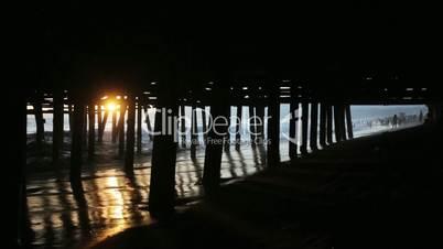 Sun Under the Pier