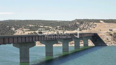 Starvation reservoir bridge semi truck P HD 0220