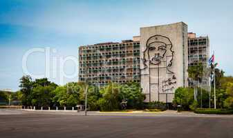 Havana, Cuba - on June, 7th. monument to Che Guevara Revolution