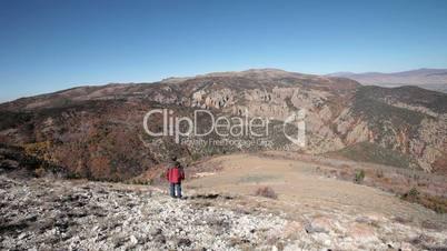 Man climbing impressive mountain P HD 0462