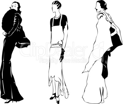 Women's evening wear