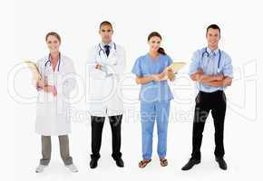 Portrait Of Medical Staff In Studio