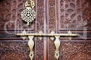Islamic style door
