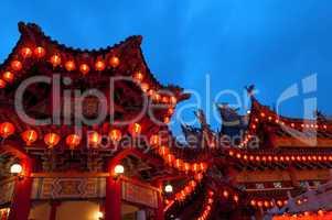 Buddhist temple.