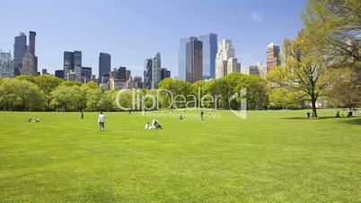 Central Park, Time Lapse