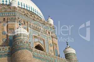 Shahrukhn-e-Alam Tomb Closeup