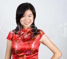 Oriental Woman.