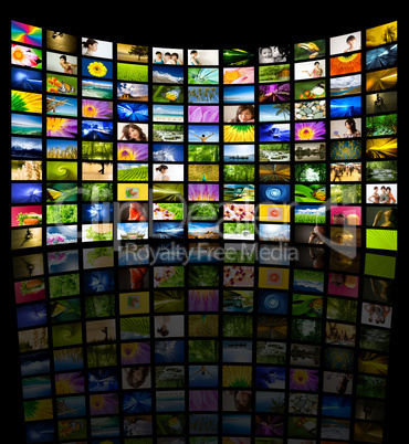 Big Panel of TV.