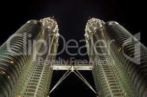 Kuala Lumpur landmark, Malaysia.