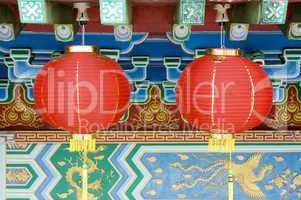 Oriental lanterns