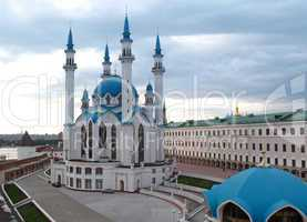 the Kul Sharif mosque and old Kremlin, Kazan